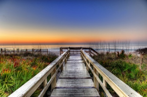 Sunrise-Boardwalk